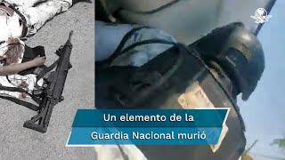El enfrentamiento ocurrió el pasado 28 de abril en el municipio de Los Aldama; según fuentes policiacas, el saldo fue de un elemento de la Guardia Nacional sin vida y otro gravemente herido además varias patrullas fueron incendiadas