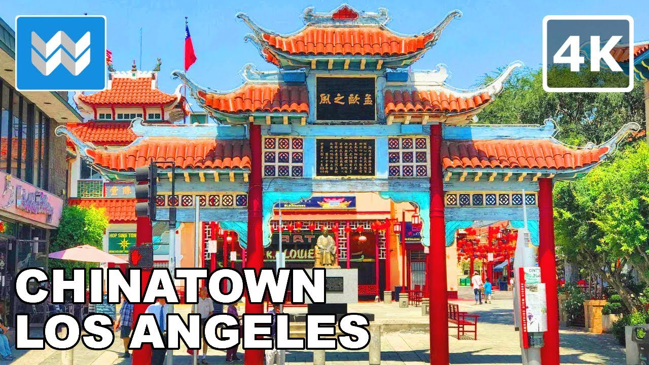 walking from olvera street to chinatown in downtown los. Black Bedroom Furniture Sets. Home Design Ideas