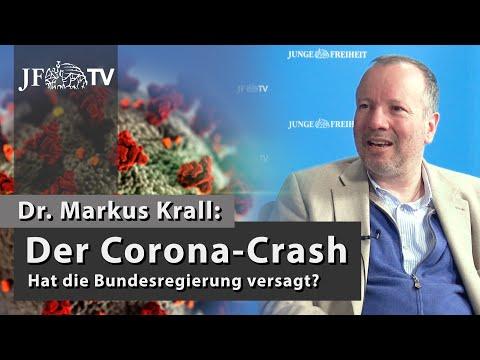 Der Corona-Crash: Hat die Bundesregierung versagt? (JF-TV Interview mit Markus Krall)