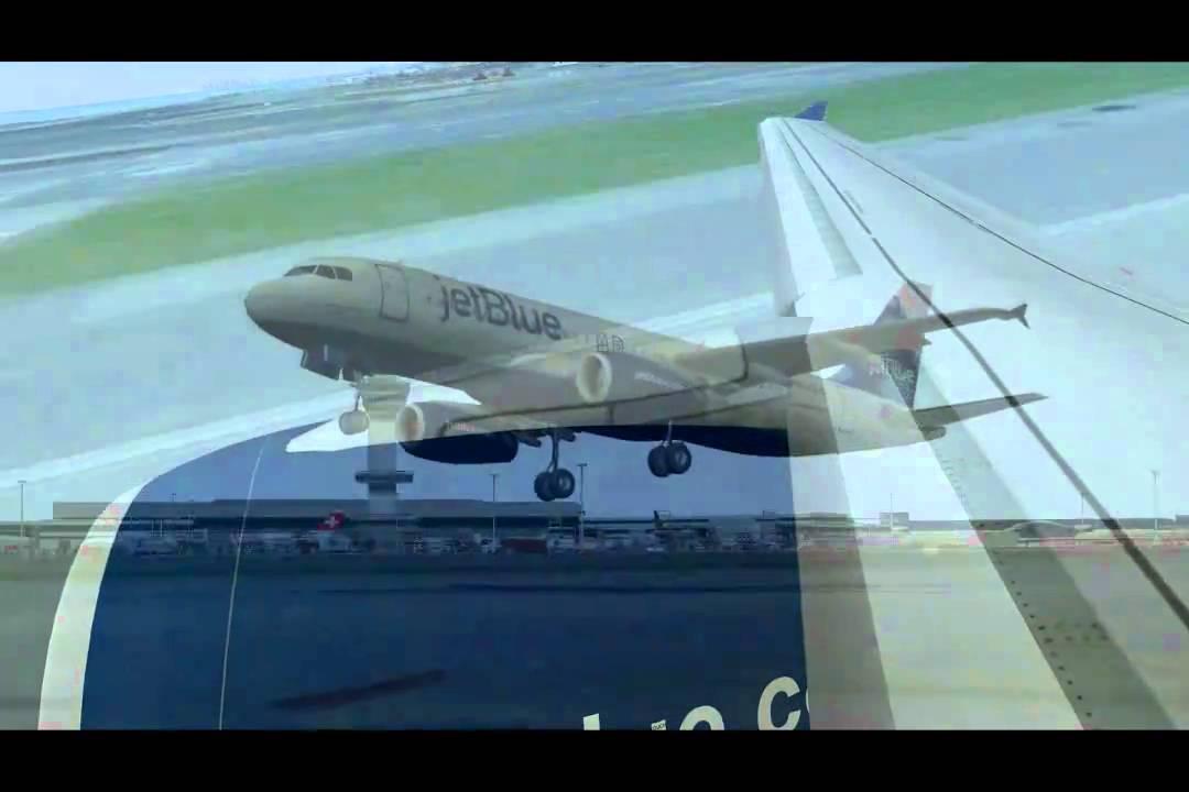 KJFK-KORD jetBlue A320 - Videos - X-Pilot