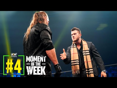 The Challenge Accepted - MJF and Jericho Make It Official | AEW Dynamite: Road Rager, 7/7/21