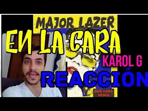 En La Cara - Major Lazer feat. Karol G (Reaction) - Maicon Vaccaro