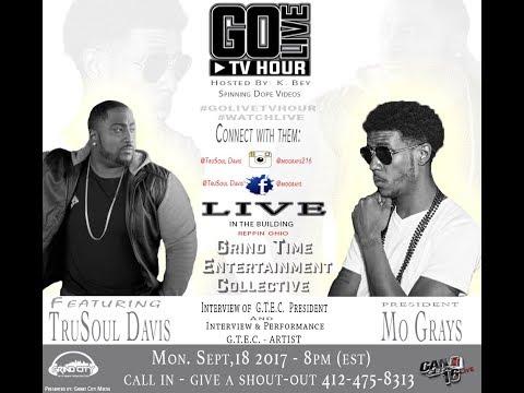 s2 Ep 48 | GoLiveTvHour Feat Ohio Artist TruSoul Davis @trusouldavis