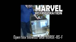 Marvel Refrigeration Drawers 80RDE-BS-F-R 80RDEBSFWI Blowout open box pricing