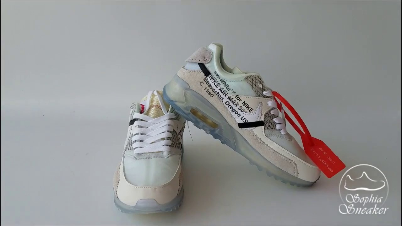 Sophia s UA The 10 Air Max 90 Off White Unboxing Review. Sneakers Sophia 6c298c64a78ce