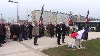 Cérémonie d'hommages aux victimes de la guerre d'Algérie - 19 Mars 2016