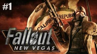 "Fallout: New Vegas | Part 1 ""It Begins..."" (Walkthrough, Playthrough, Let"