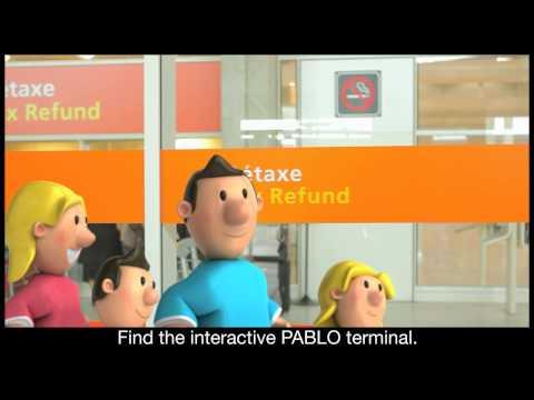 Bornes de détaxe Pablo