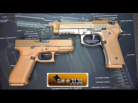 Beretta M9A3 vs Glock G19X Comparison
