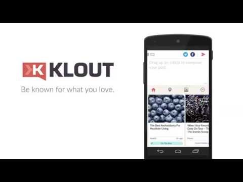 Klout - Android Apps on Google Play