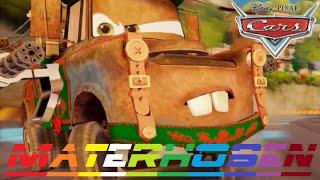 Cars 2 - Mater - Materhosen - Hook (friend from Lightning McQueen & Finn McMissile)