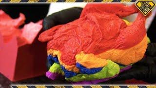 Homemade Rainbow Chocolate Chicken