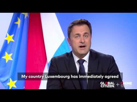 Xavier Bettel Supports #SheDecides