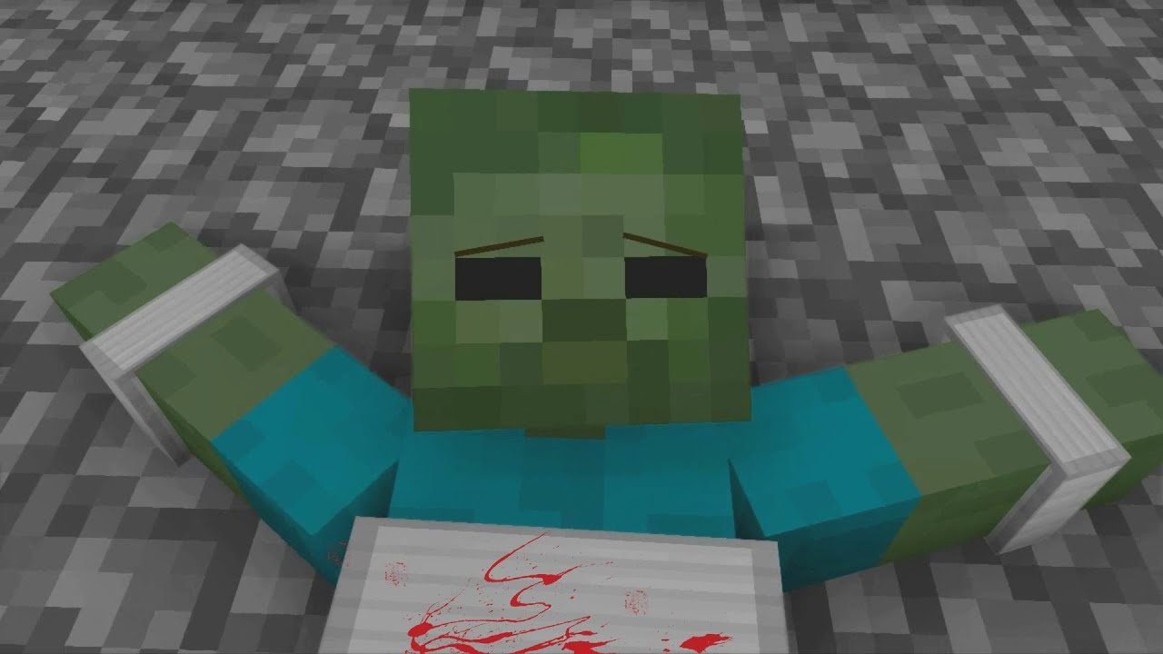 Zombie Life Season 1 Minecraft Animation Youtube