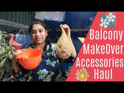 Balcony Decoration Ideas & Haul 🏝🏝 || Indian Mom Studio