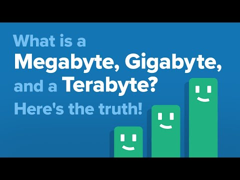 What Is A MB, GB, And TB? The Difference Between Megabytes, Gigabytes, And Terabytes!