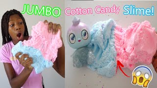 Jumbo Cotton Candy Slime! | + Special Guest! | Goo Goo Galaxy