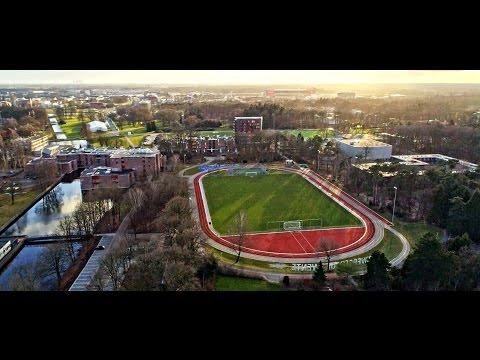 University of Twente Campus by Drone - Enschede