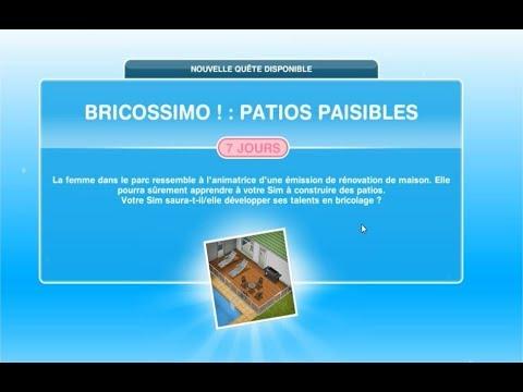 Bricossimo : Patios Paisibles - Ep19 - Les Sims Freeplay avec Jane Steward -
