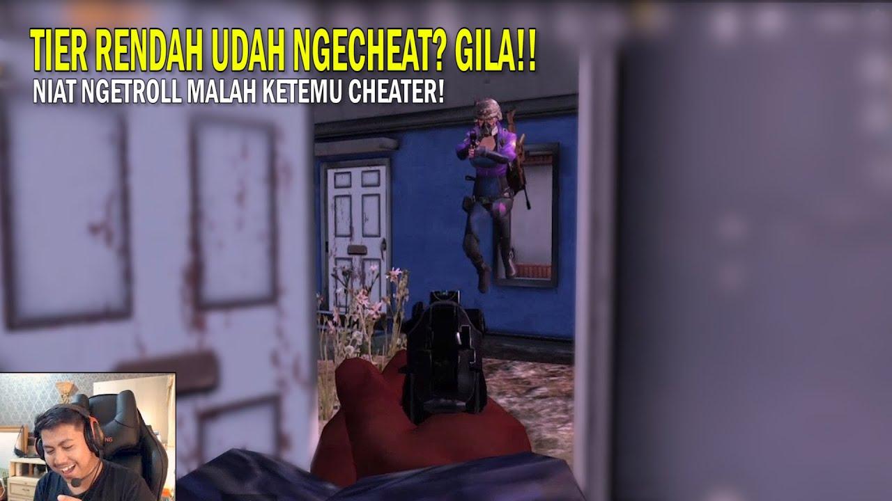 NGE-TROLL DI RANK BAWAH, MALAH KETEMU CHEATER! - PUBG Mobile