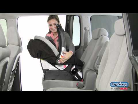 2011 Car Seat - Peg Perego Primo Viaggio SIP 30/30 - How To Click Seat Into Place