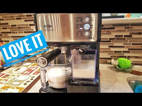 Mr Coffee ECMP 1000 Espresso Cappuccino Cafe Barista maker REVIEW How To Make