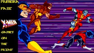 GamesOnThePrint #019 - Primeira Fase - X-Men (1992)