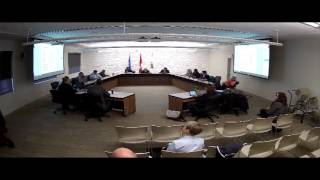 Town of Drumheller Special Council Meeting April 25, 2016