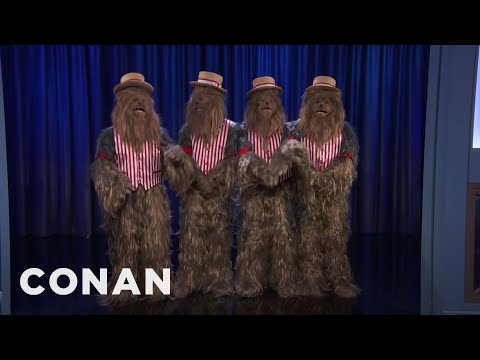Conan vs. Chewbaccapella's Performance