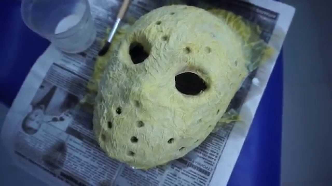 Легендарная маска Джейсона Вурхиза : как сделать своими руками? 19