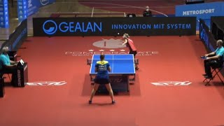 Bernadette Szocs (ROU) vs Gana Gaponova (UKR) | Europe Top 16 2021 (1/4)
