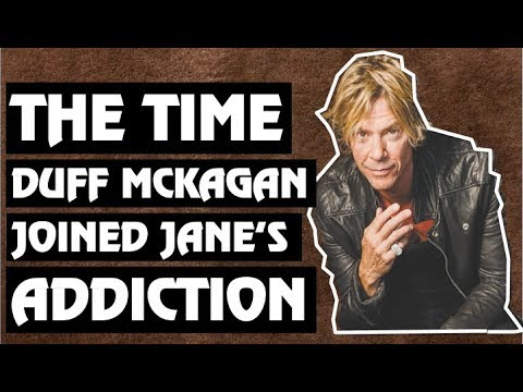 Guns N' Roses: The Time Duff McKagan Joined Jane's Addiction