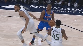 Chris Paul Fakes Rudy Gobert! Thunder Dominate Jazz! 2019-20 NBA Season