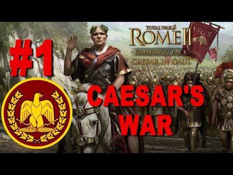 Rome 2 - Caesar in Gaul Campaign #1