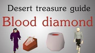[OSRS] Desert Treasure guide - Blood diamond (43 prayer)