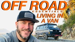 Living The Van Life - Off Road Living In a Van