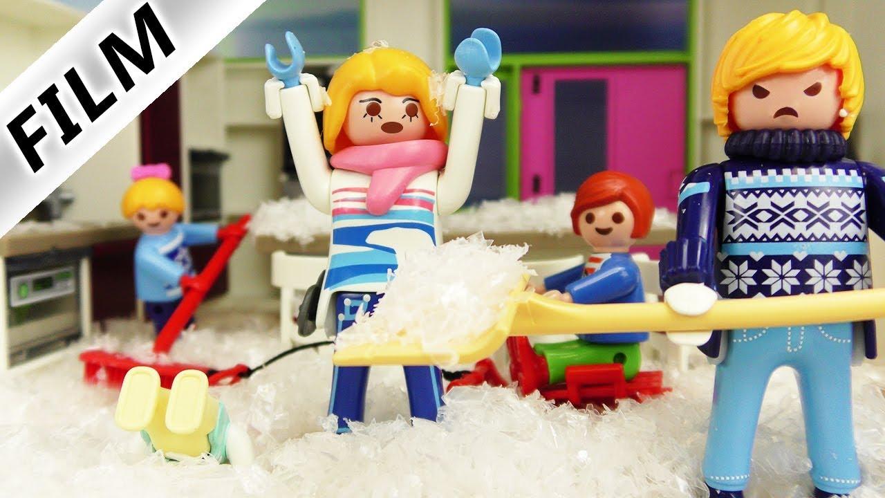 Playmobil Film Deutsch Eiszeit In Luxusvilla Wohnhaus Voller