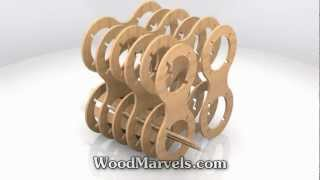 Infinity Winerack Cnc: 3d Assembly Animation (720hd)