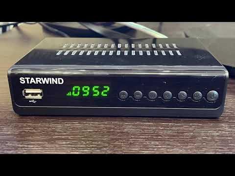 Обзор цифровой ТВ приставки DVB-T2 STARWIND CT-280