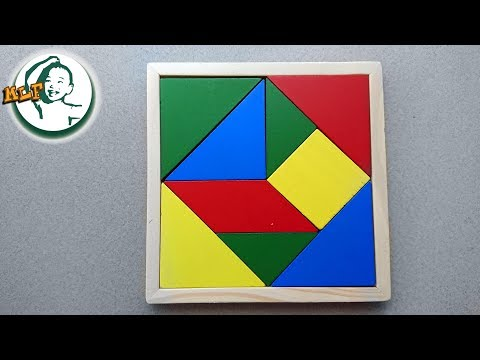 Learn to play Tangram puzzle for kids