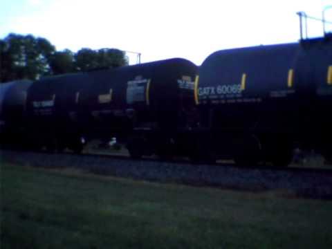 CN Train in Fond du lac WI