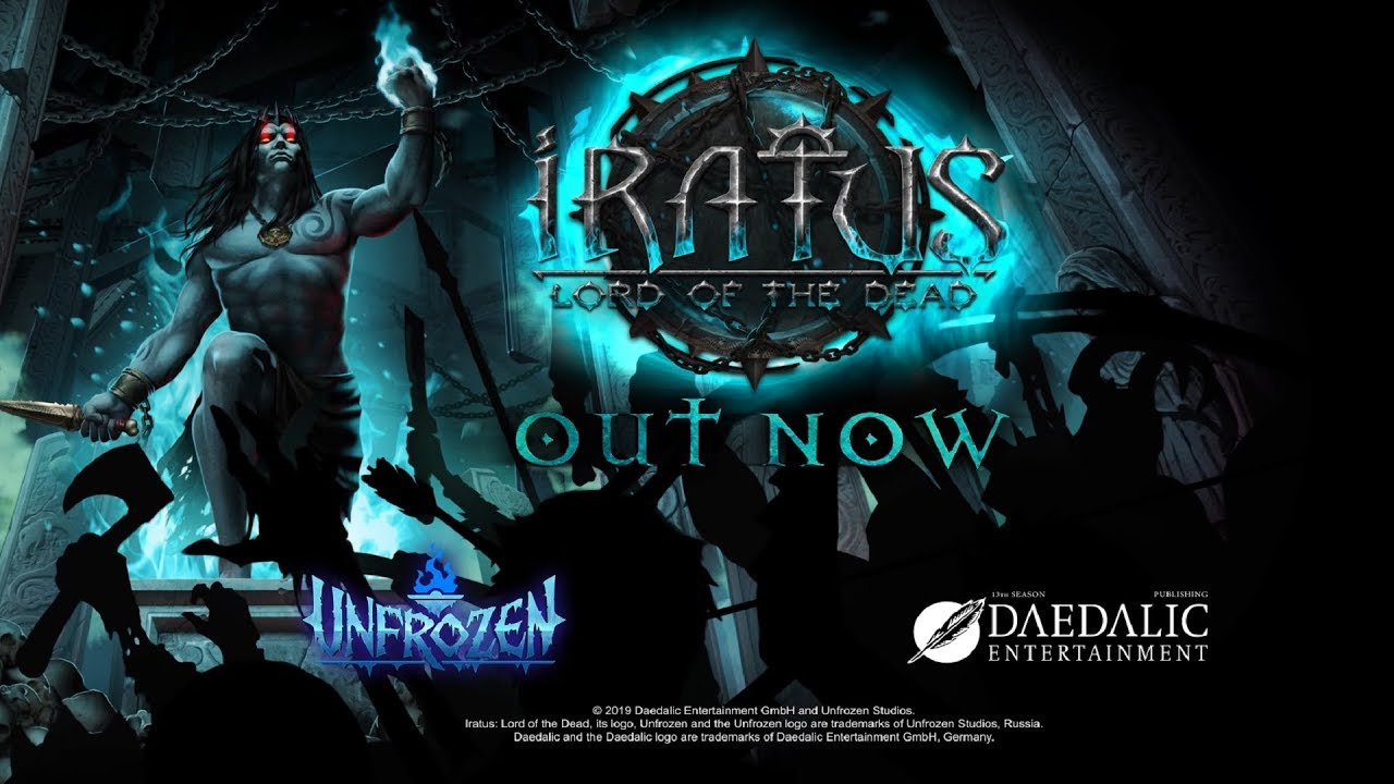 Iratus: Lord of the Dead - turn-based roguelike inspired by