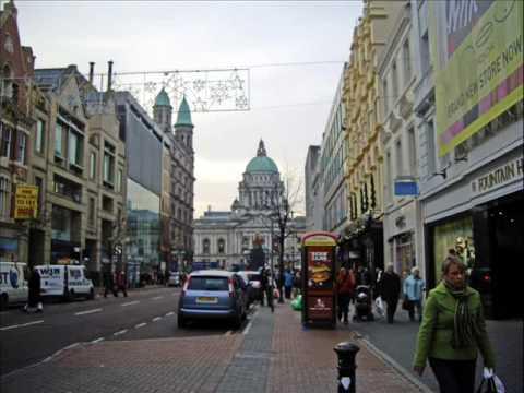 A walk through Belfast City centre