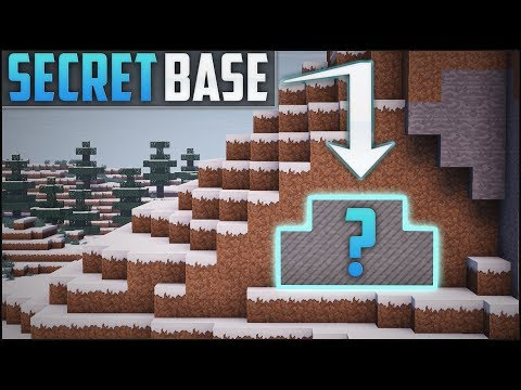 Minecraft: How To Build A Secret Base Tutorial (#7)