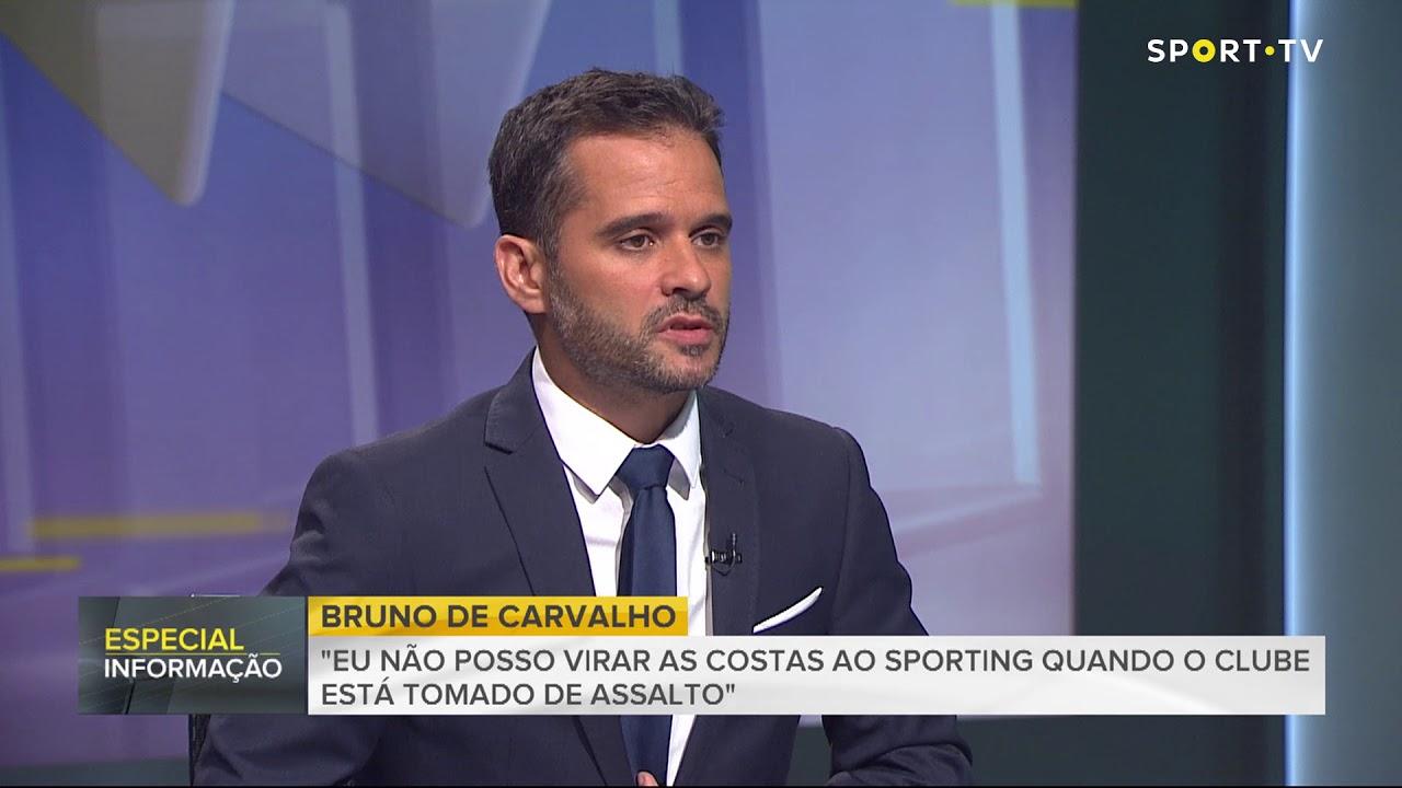 Entrevista Bruno De Carvalho à Sport TV