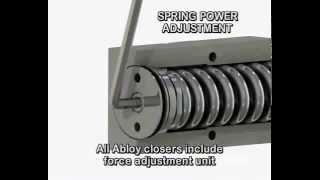 видео Дверные доводчики