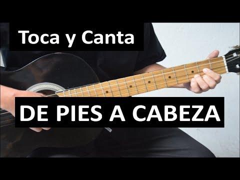 Como Tocar DE PIES A CABEZA De Maná  (Sencilla Versión Para Quienes Inician A Tocar).