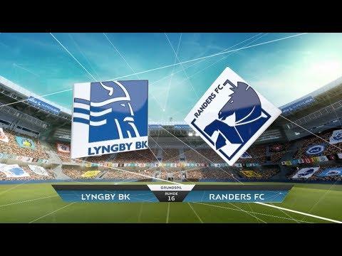 Highlights: Lyngby Boldklub-Randers FC (19-11-2017)