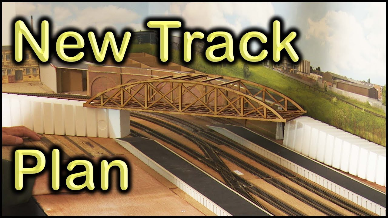 73 New Track Plan At Chadwick Model Railway Youtube