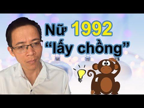 Nữ 1992 Nhâm Thân Tuyệt đối Không Lấy Chồng Tuổi Này -  Xem Tuổi Kết Hôn -  Phong Thủy Người Việt